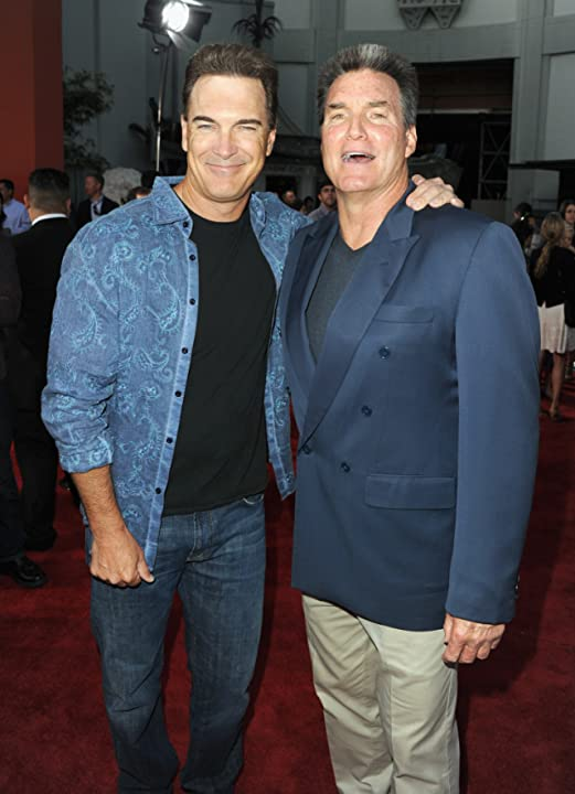 Sam J. Jones and Patrick Warburton at an event for Ted (2012)