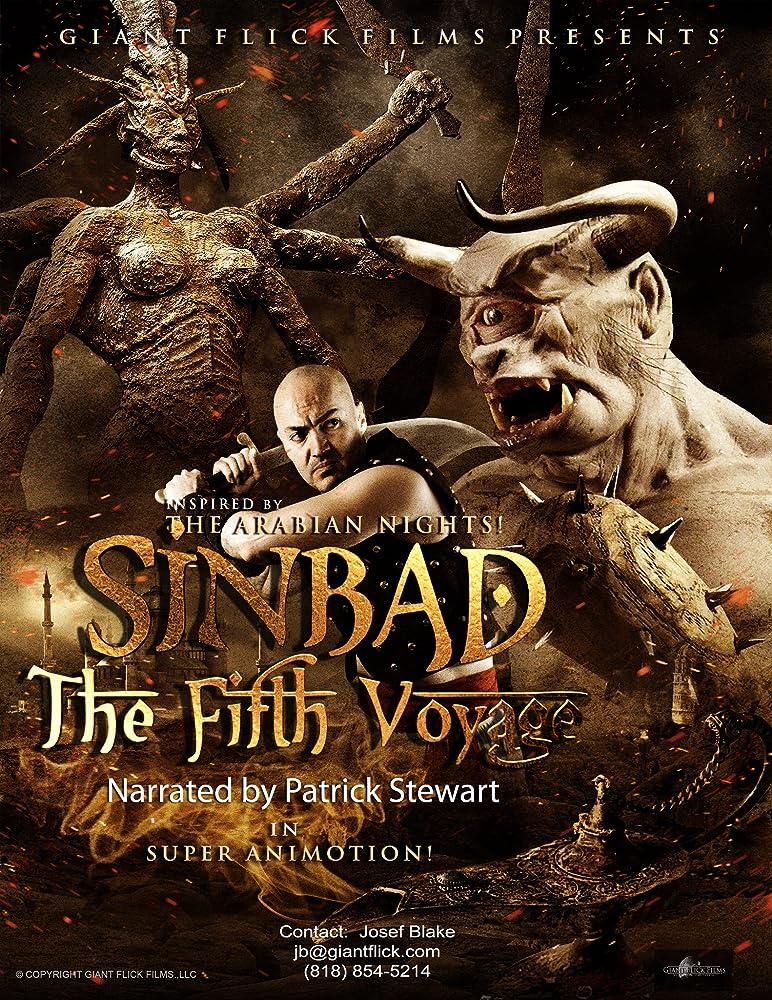 Sinbad The Fifth Voyage 2014 720p HDRip Dual Audio Watch Online Free Download