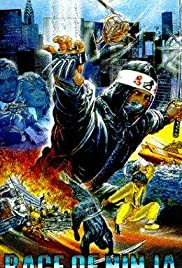 Rage of Ninja Poster