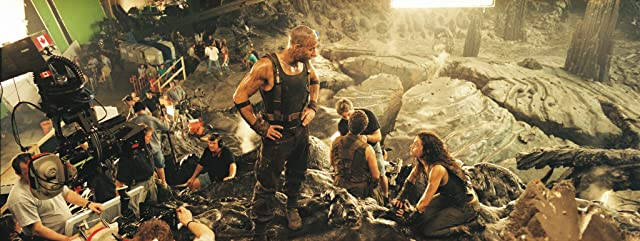 Vin Diesel and Alexa Davalos in The Chronicles of Riddick (2004)