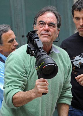 Oliver Stone at Wall Street: Money Never Sleeps (2010)