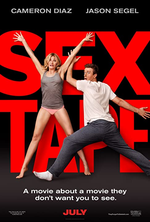 Cameron Diaz and Jason Segel in Sex Tape (2014)