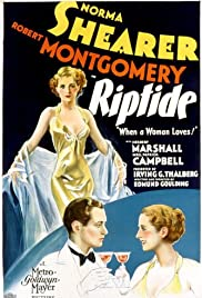 Riptide (1934) Poster - Movie Forum, Cast, Reviews