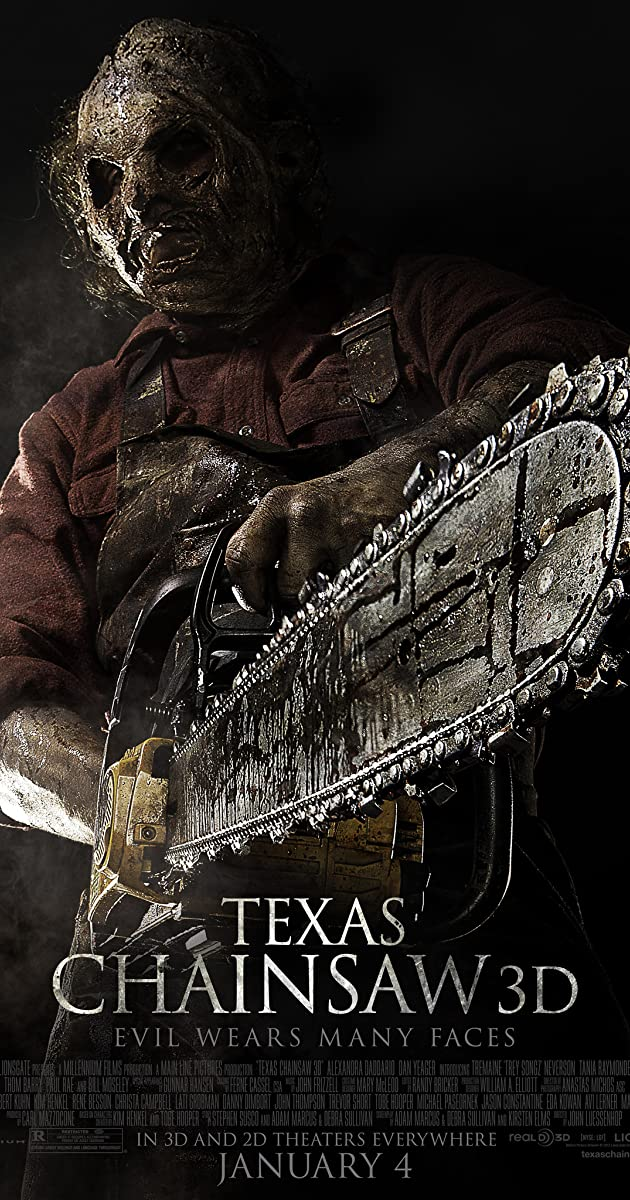 Kruvinos skerdynės Teksase / Texas Chainsaw (2013)Online