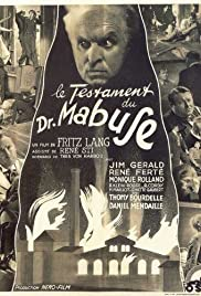 The Last Will of Dr. Mabuse Poster