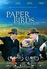 Pájaros de papel Poster