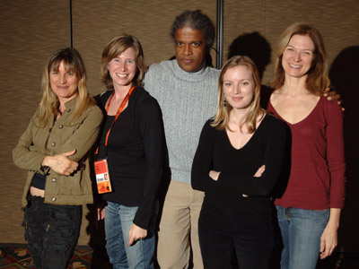 Sarah Polley, Catherine Hardwicke, Dawn Hudson, Pamela Martin, and Elvis Mitchell