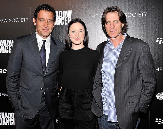 Clive Owen, James Marsh, and Andrea Riseborough at Shadow Dancer (2012)