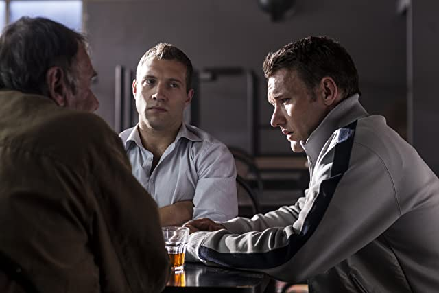 Joel Edgerton, Tom Wilkinson, and Jai Courtney in Felony (2013)