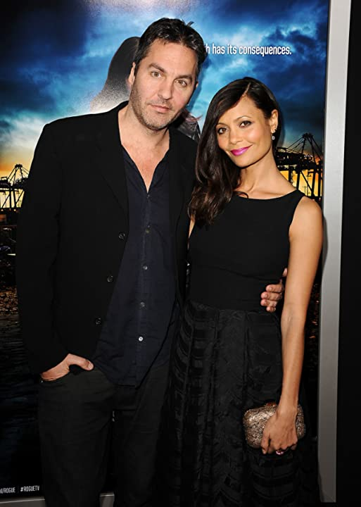 Thandie Newton and Ol Parker at Rogue (2013)