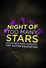 Night of Too Many Stars: An Overbooked Concert for Autism Education Poster