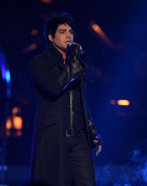 Adam Lambert in American Idol (2002)