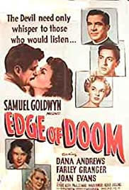 Edge of Doom 1950 Poster