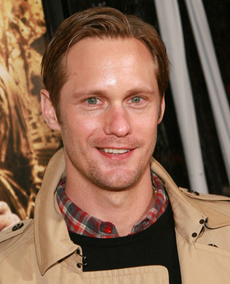 Alexander Skarsgård at an event for The Pacific (2010)
