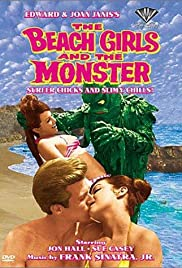 The Beach Girls and the Monster Poster