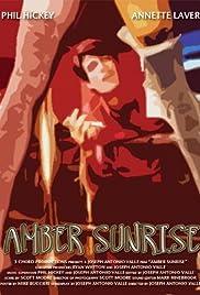 Amber Sunrise Poster