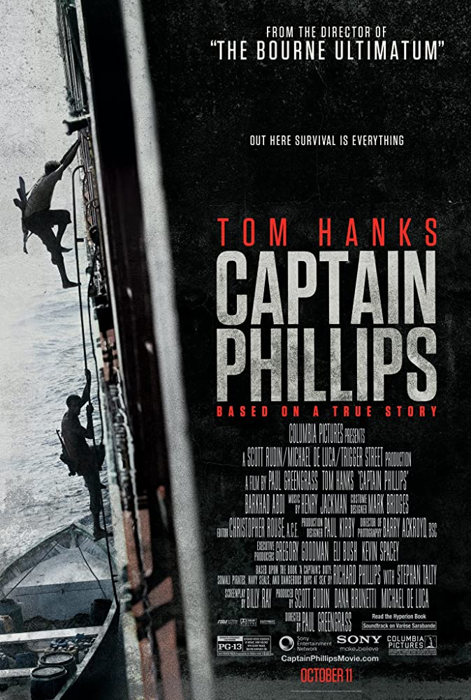 Captain Philips Locandina del film