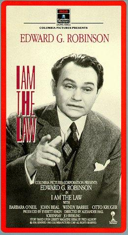 Edward G. Robinson in I Am the Law (1938)