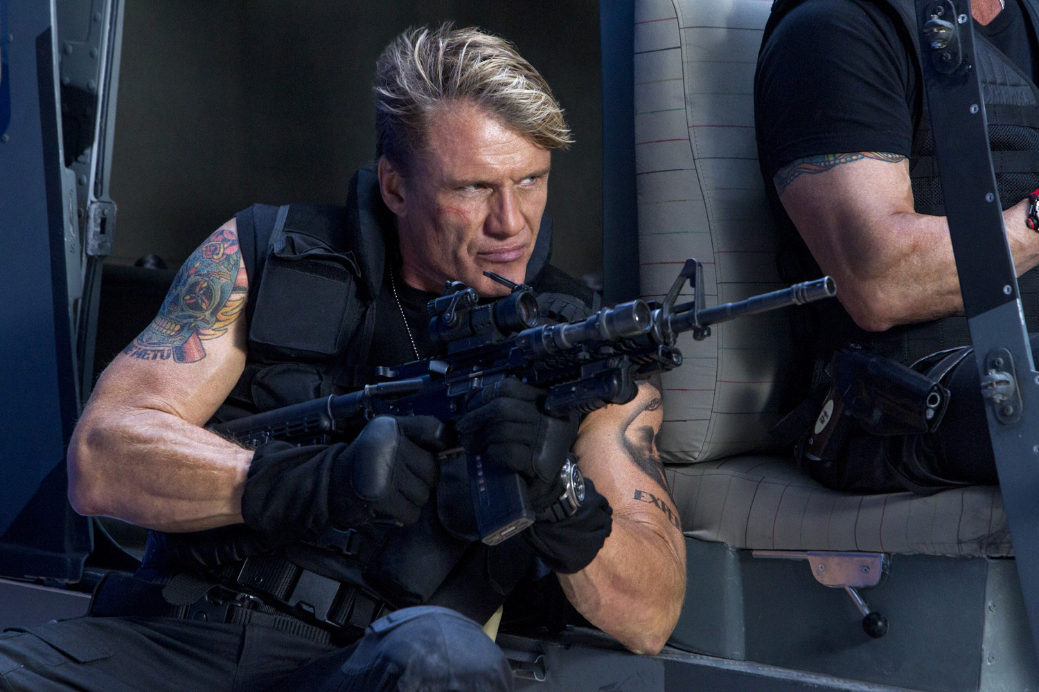 Dolph Lundgren in The Expendables 3 (2014)