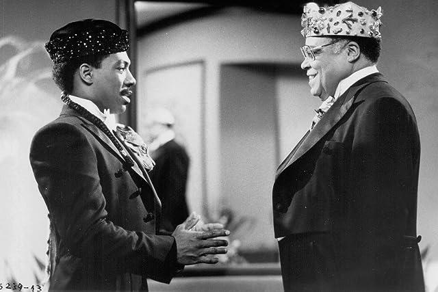 James Earl Jones and Eddie Murphy in Coming to America (1988)
