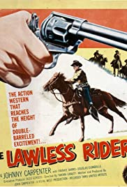 The Lawless Rider Poster