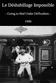 Going to Bed Under Difficulties(1900) Poster - Movie Forum, Cast, Reviews