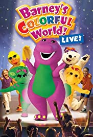 Barney's Colorful World, Live! Poster