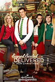Signed, Sealed, Delivered for Christmas (2014) Poster - Movie Forum, Cast, Reviews