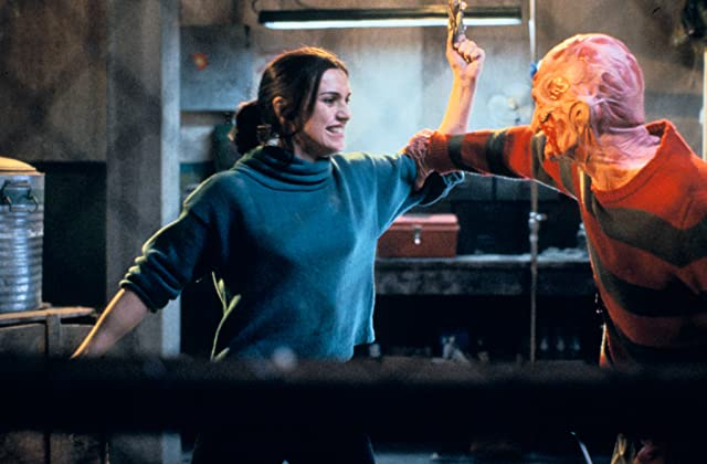 Robert Englund and Lisa Zane in Freddy's Dead: The Final Nightmare (1991)