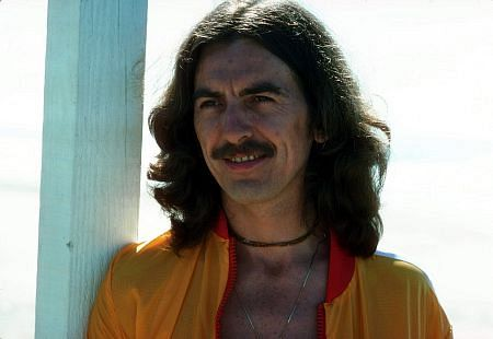 George Harrison in Acapulco January 1977