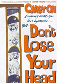 Carry On... Don't Lose Your Head (1966) Poster - Movie Forum, Cast, Reviews