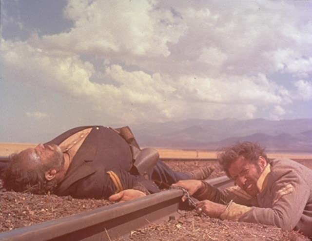 Mario Brega and Eli Wallach in The Good, the Bad and the Ugly (1966)