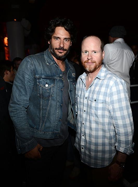 Joe Manganiello and Joss Whedon