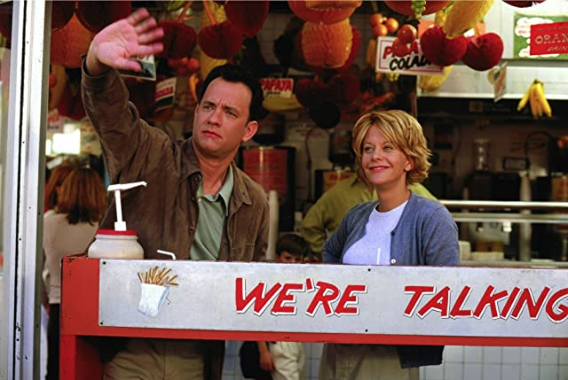Tom Hanks and Meg Ryan in You've Got Mail (1998)