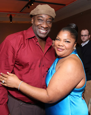 Michael Clarke Duncan and Mo'Nique at an event for Welcome Home, Roscoe Jenkins (2008)