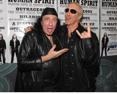 Dee Snider and Robb Reiner at Anvil: The Story of Anvil (2008)