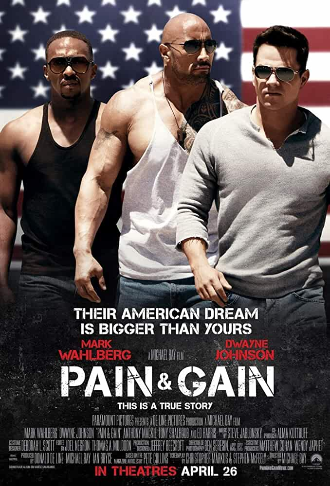 Pain and Gain 2013 720p BluRay Hindi English Dual Audio