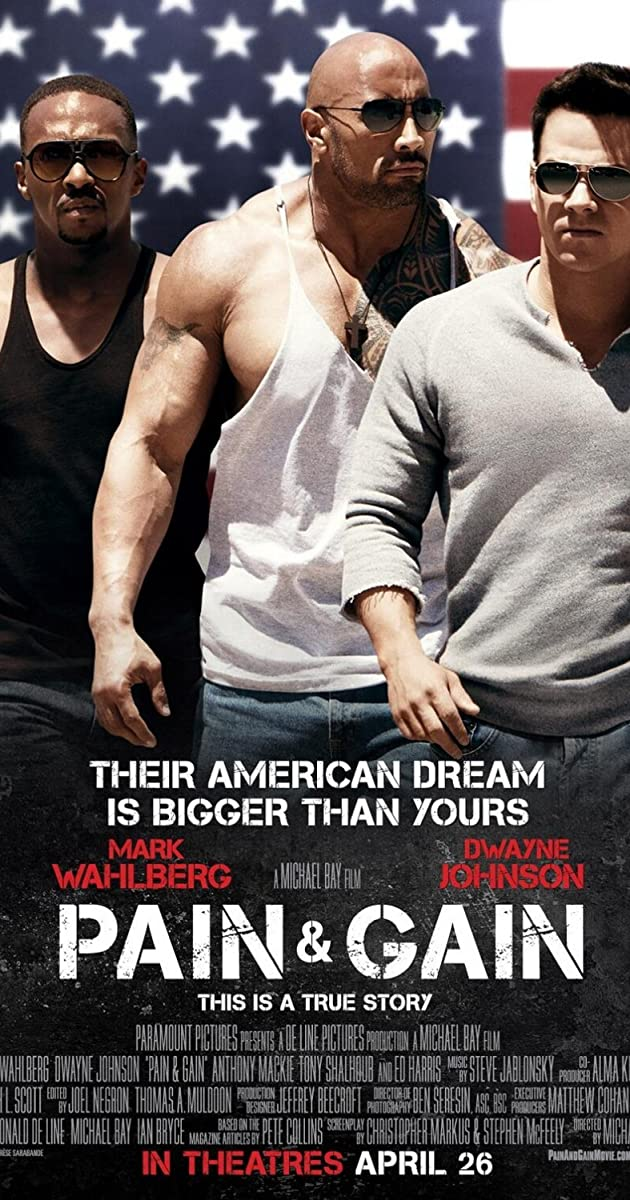 Kultūristai / Pain and Gain (2013) Online