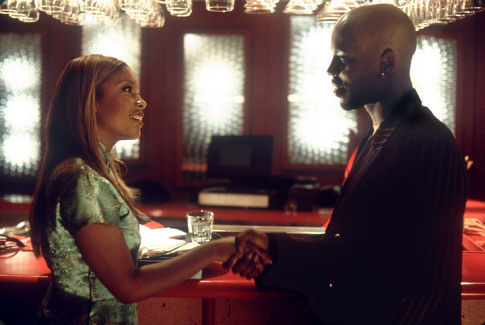 DMX and Reagan Gomez-Preston in Never Die Alone (2004)