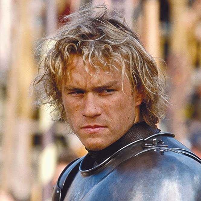 Heath Ledger in A Knight's Tale (2001)
