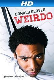 Donald Glover: Weirdo Poster