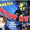 Boris Karloff, Alan Baxter, Warren Hull, and Jean Rogers in Night Key (1937)