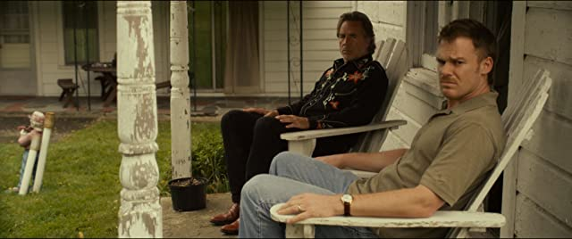 Don Johnson and Michael C. Hall in Cold in July (2014)