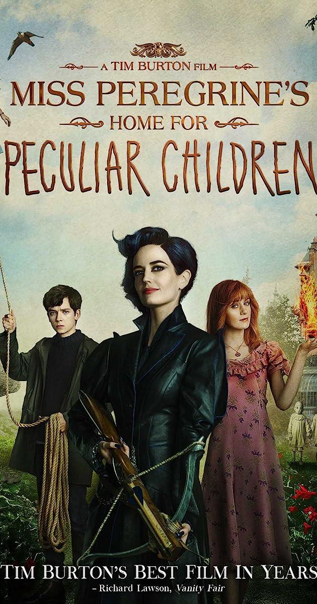 Panelės Peregrinės ypatingų vaikų namai / Miss Peregrines Home for Peculiar Children (2016) Online