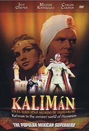 Kalimán, el hombre increíble Poster