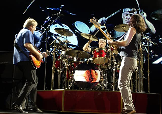 Alex Lifeson, Neil Peart, Geddy Lee, and Rush