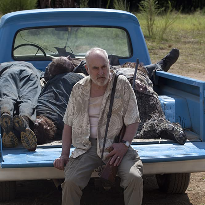Jeffrey DeMunn y Ashton Lee Woolen en The Walking Dead (2010)