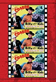 Billy the Kid's Round-Up Poster