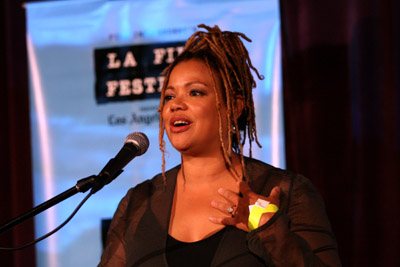 Kasi Lemmons at an event for Talk to Me (2007)