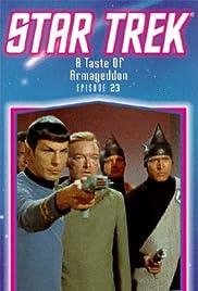 A Taste of Armageddon Poster